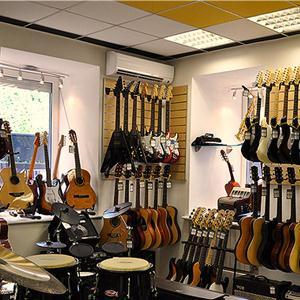 Музыкальные магазины Заречья